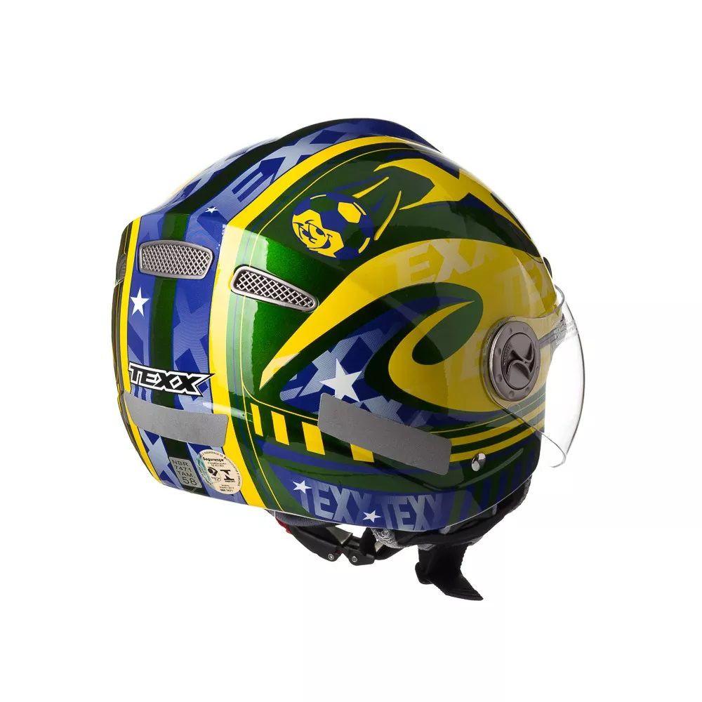 Capacete Fechado Texx Arsenal Plus Brasil  - Ditesta & Daihead - Moto Store