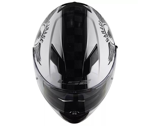 Capacete Ls2 Ff320 Stream Garage  - Ditesta & Daihead - Moto Store