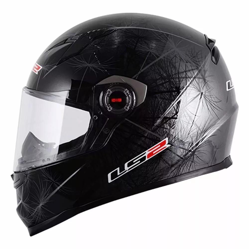 Capacete Ls2 Ff358 Breeze Preto  - Ditesta & Daihead - Moto Store