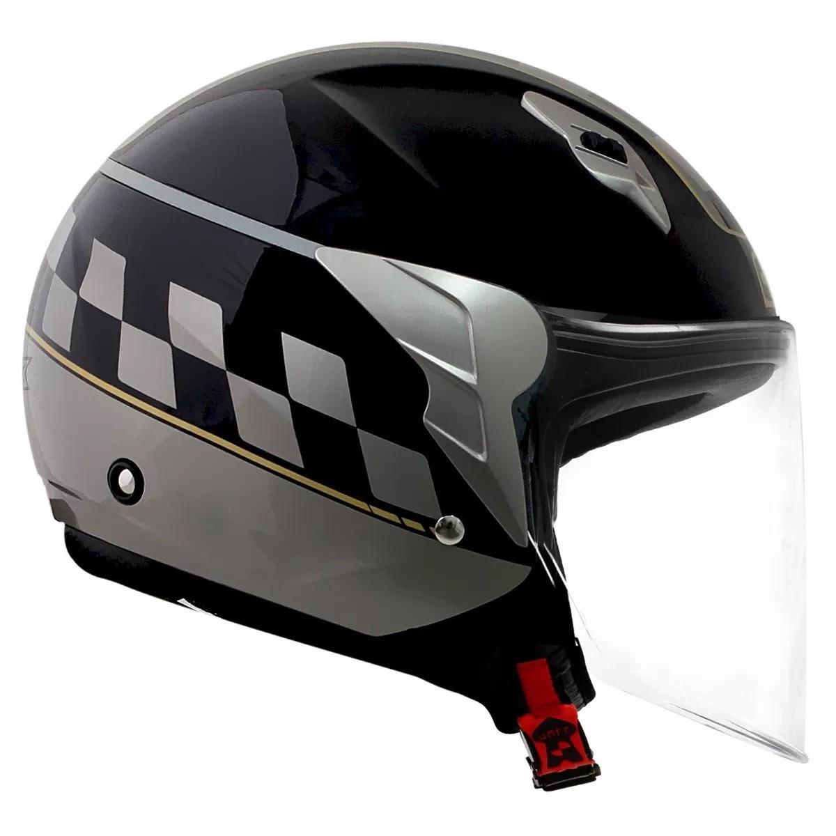 Capacete Norisk College Black / Grey  - Ditesta & Daihead - Moto Store
