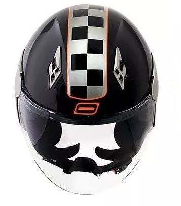 Capacete Norisk College Black / Orange  - Ditesta & Daihead - Moto Store