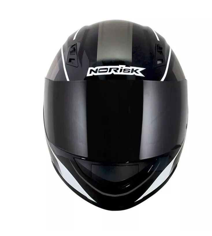 Capacete Norisk Fechado Ff391 Night Breaker Preto  - Ditesta & Daihead - Moto Store
