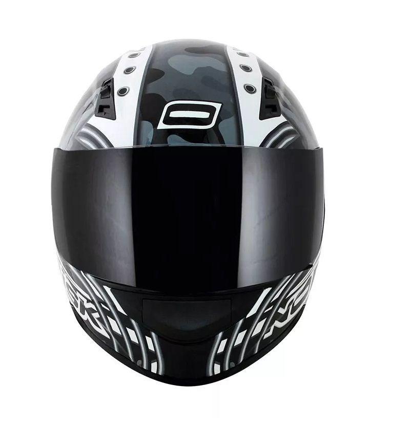 Capacete Norisk Ff391 Cyborg Branco/preto   - Ditesta & Daihead - Moto Store