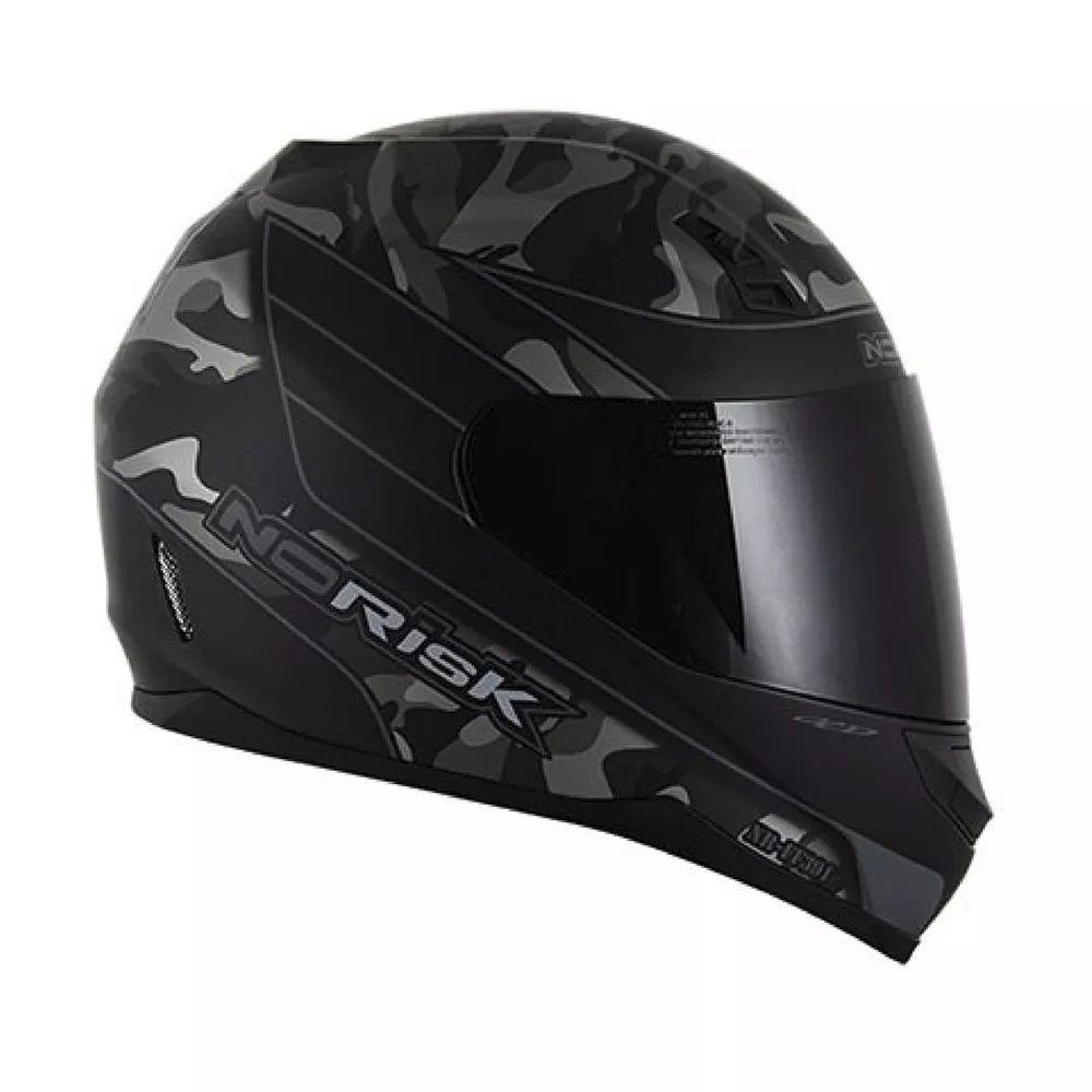 Capacete Norisk War Preto e Cinza  - Ditesta & Daihead - Moto Store