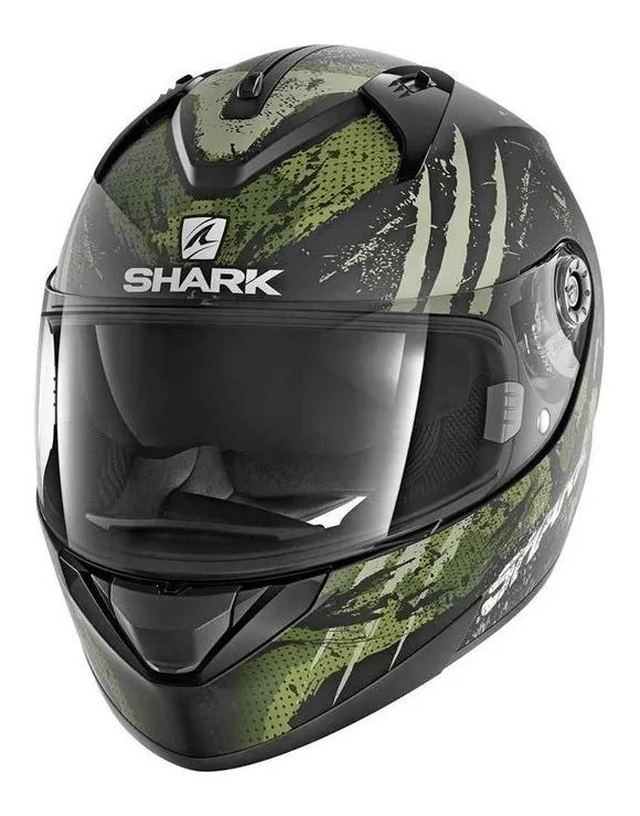 Capacete Shark Ridill THREEZY MATT KWG