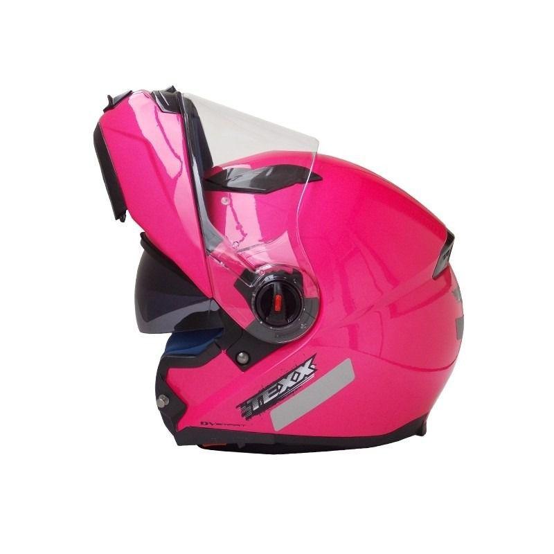 Capacete Texx Rosa Articulado