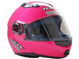 Capacete Texx Rosa Articulado  - Ditesta & Daihead - Moto Store