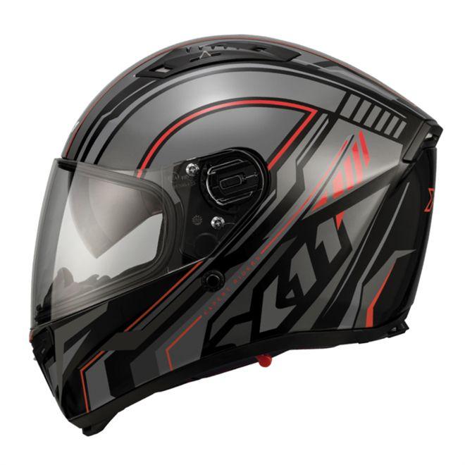 Capacete X11 Impulse Wing Vermelho  - Ditesta & Daihead - Moto Store