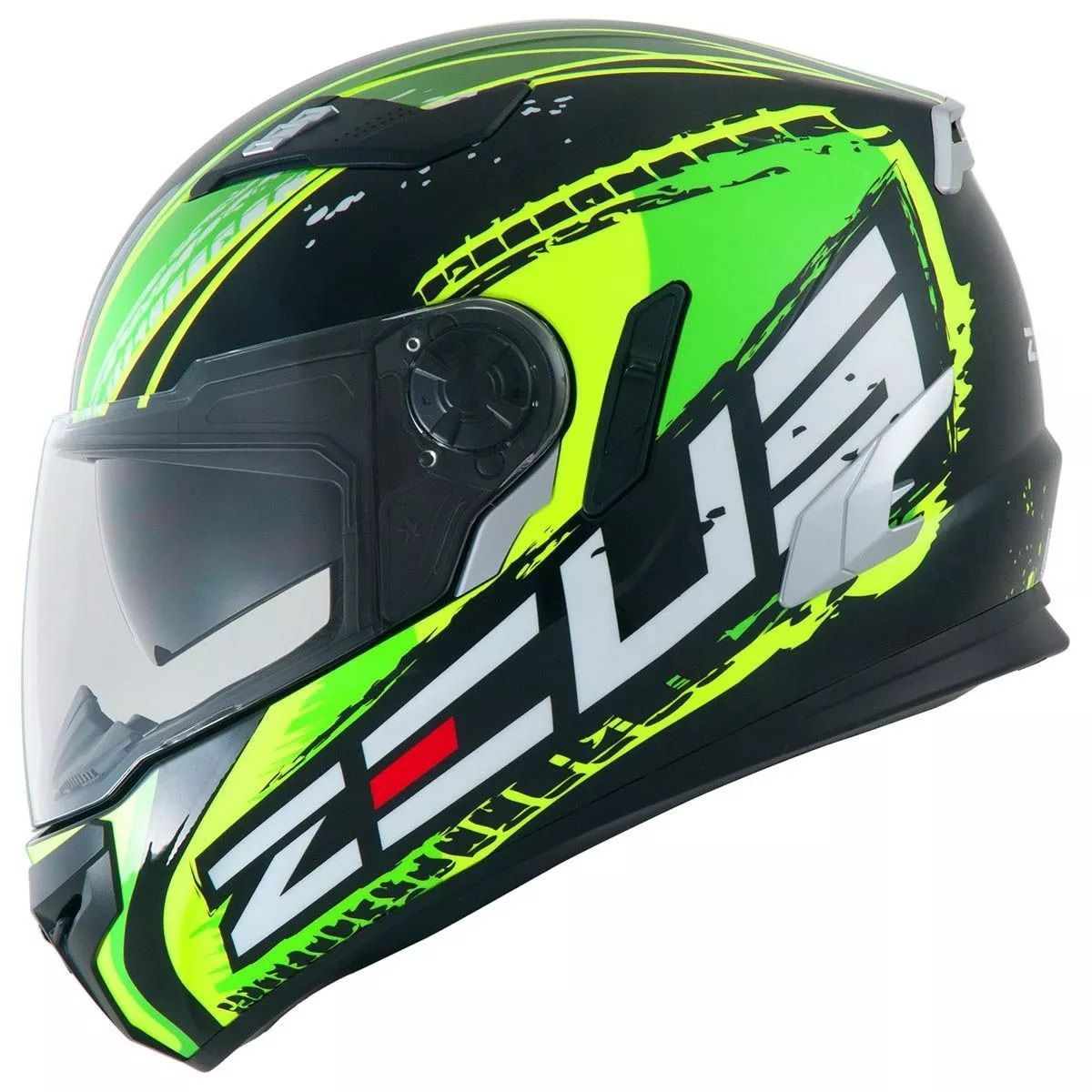 Capacete Zeus 813 An13 Brasil Verde  - Ditesta & Daihead - Moto Store