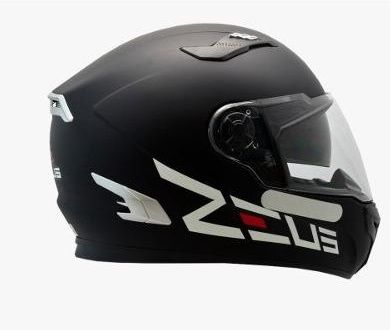 Capacete Zeus 813 Preto Fosco Big Logo  - Ditesta & Daihead - Moto Store