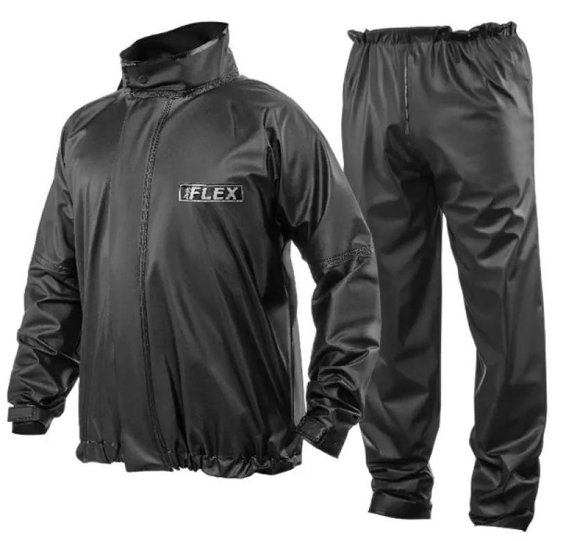 Conjunto Para Chuva Jaqueta e Calça Impermeáveis Flex em PVC (Capa de Chuva)  - Ditesta & Daihead - Moto Store