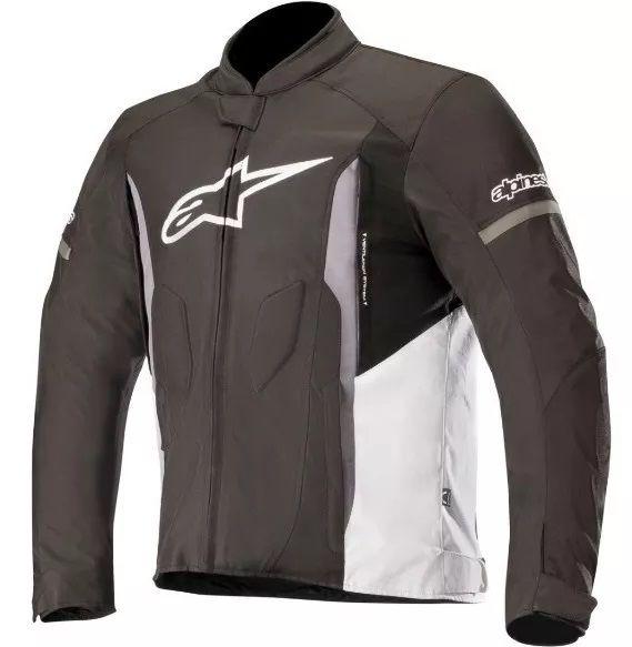 Jaqueta Alpinestars T-Faster Preto Branco Impermeável  - Ditesta & Daihead - Moto Store
