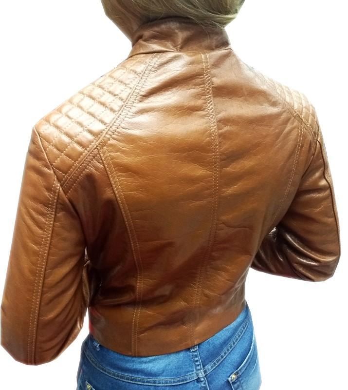 Jaqueta de Couro Caramelo  - Ditesta & Daihead - Moto Store