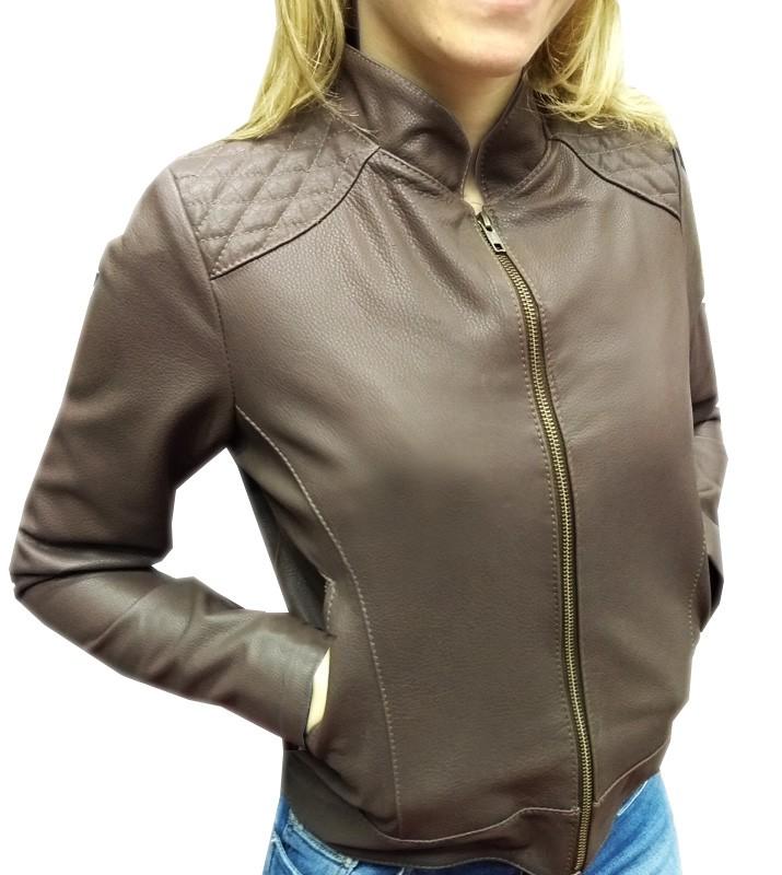 Jaqueta de Couro Marrom  - Ditesta & Daihead - Moto Store