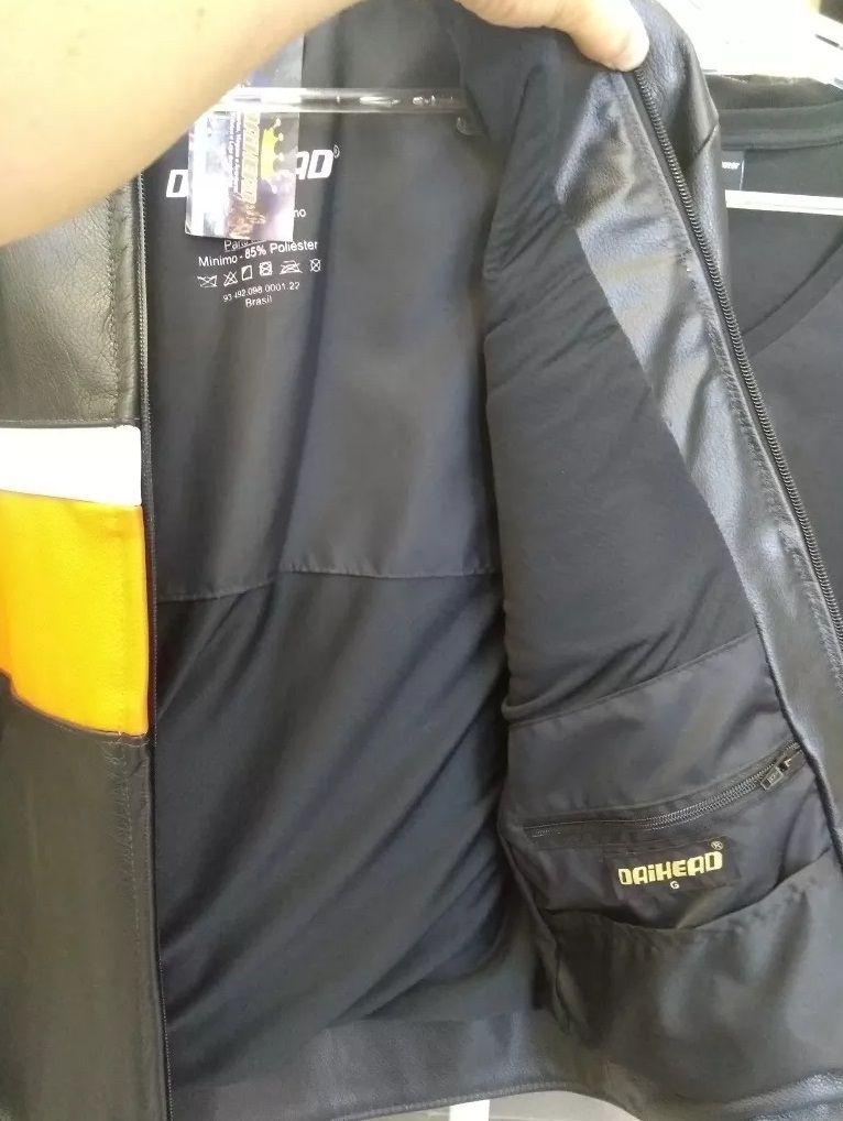 Jaqueta de Couro Custom DH - 89  - Ditesta & Daihead - Moto Store