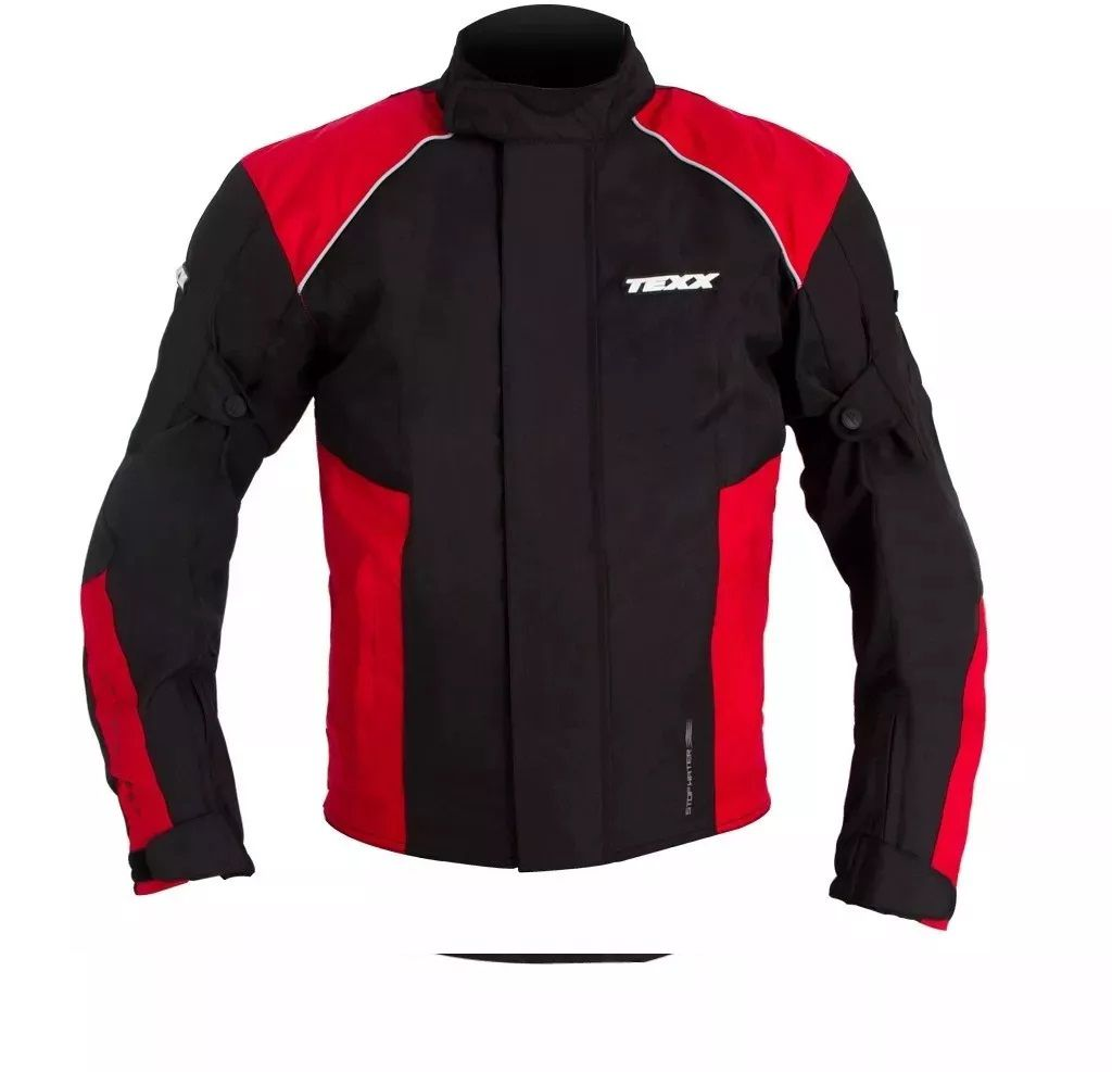 Jaqueta Motoqueiro Texx Strike II Vermelha  - Ditesta & Daihead - Moto Store