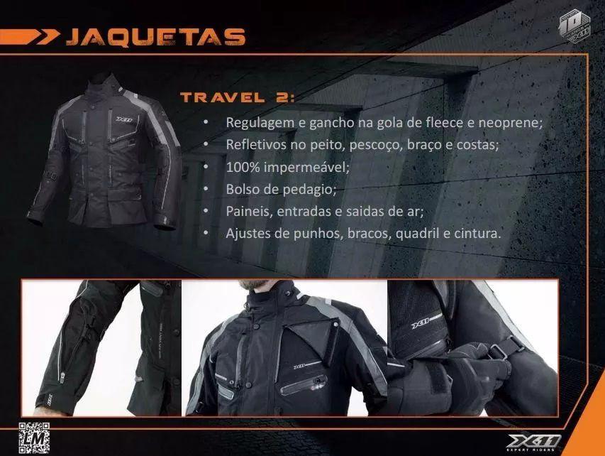 Jaqueta Parka Travel II X11  - Ditesta & Daihead - Moto Store