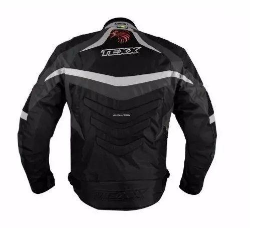 Jaqueta Texx  New Falcon Cinza  - Ditesta & Daihead - Moto Store