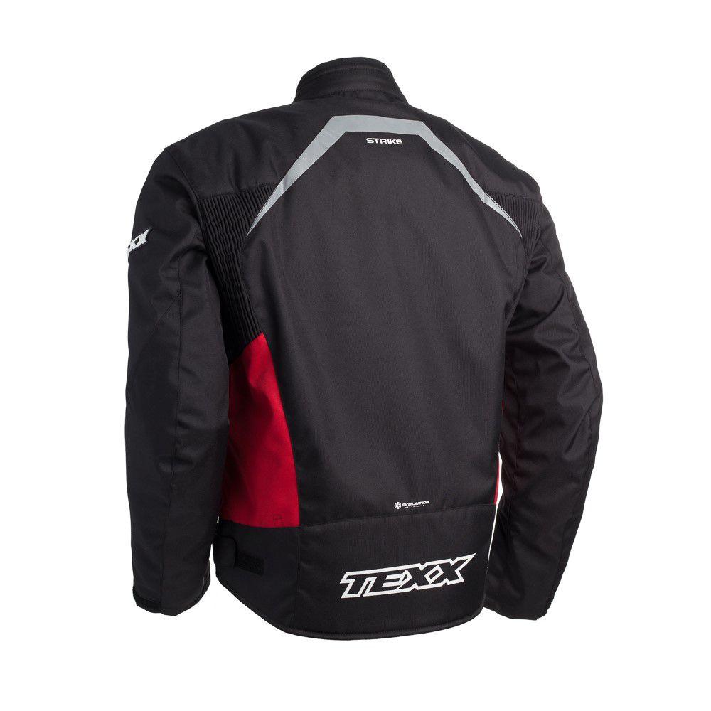 Jaqueta Texx New Strike Vermelha  - Ditesta & Daihead - Moto Store