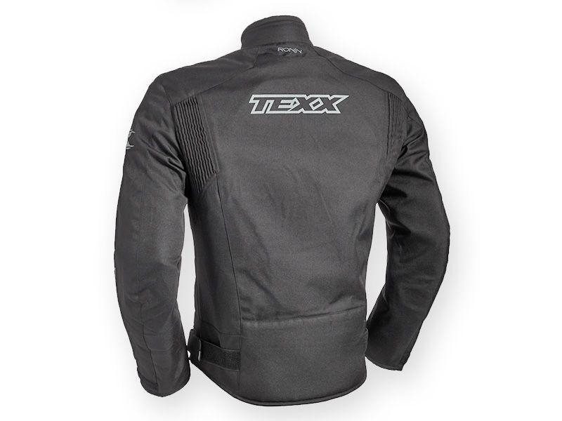 Jaqueta Texx Ronin Impermeável Preta  - Ditesta & Daihead - Moto Store