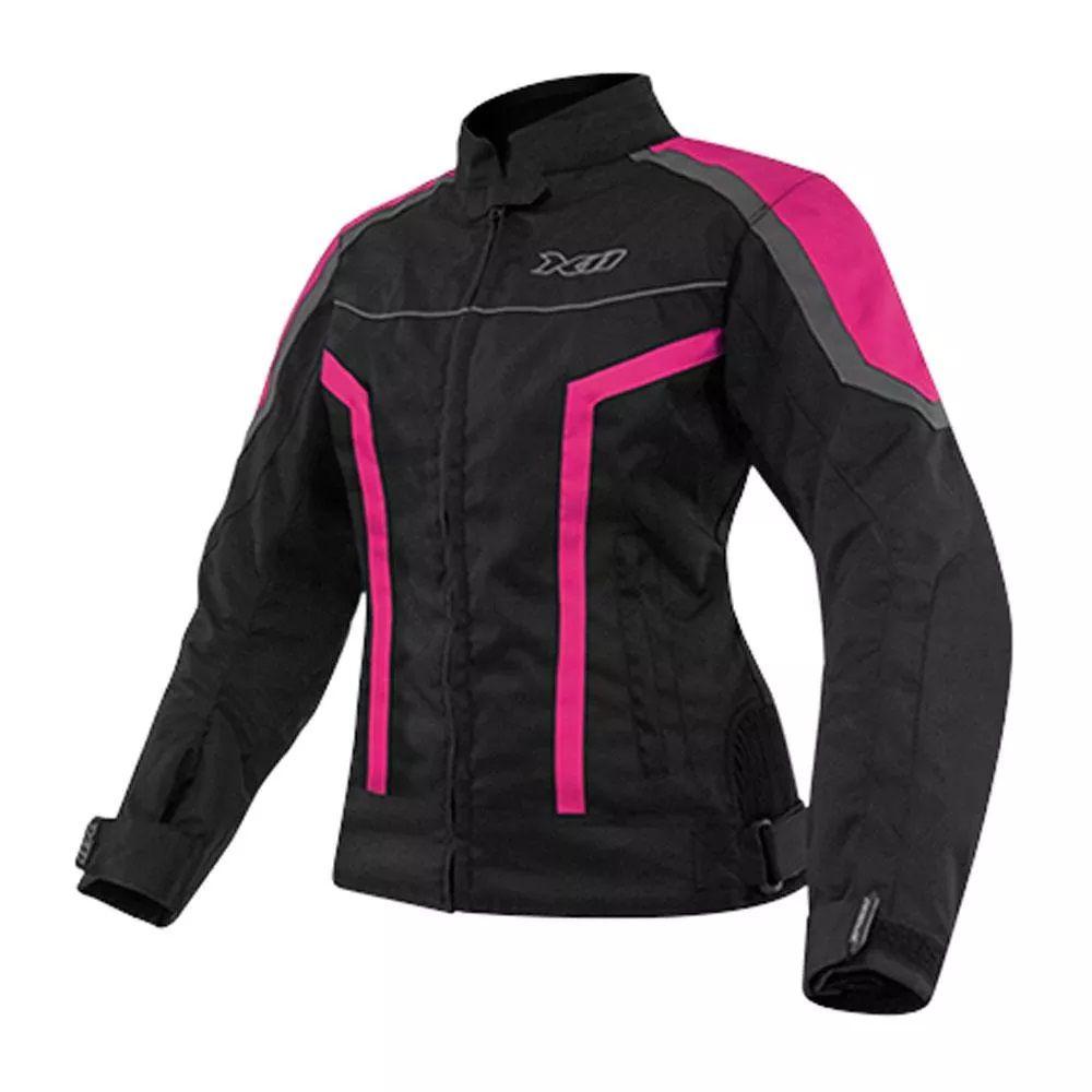 Jaqueta X11 Guard Feminina Preto e Rosa  - Ditesta & Daihead - Moto Store