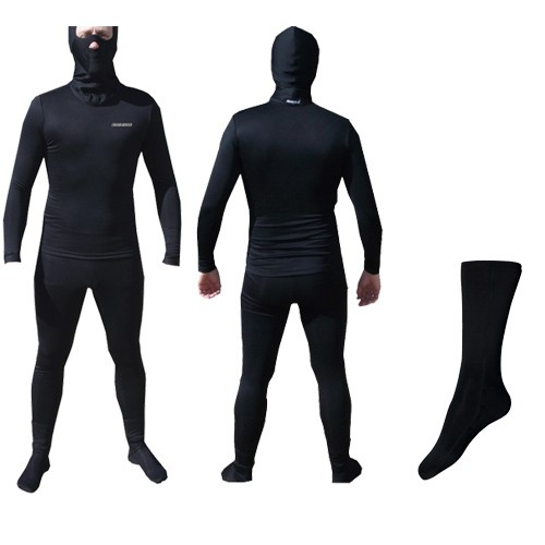Kit  Segunda Pele Thermohead Extreme Cold ( Calça, Camisa e um Par de Meias) - Unissex