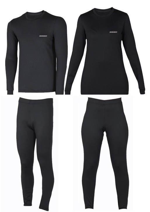Kit  Segunda Pele Thermohead Extreme Cold ( Calça, Camisa, Meia e Luva) - Unissex  - Ditesta & Daihead - Moto Store