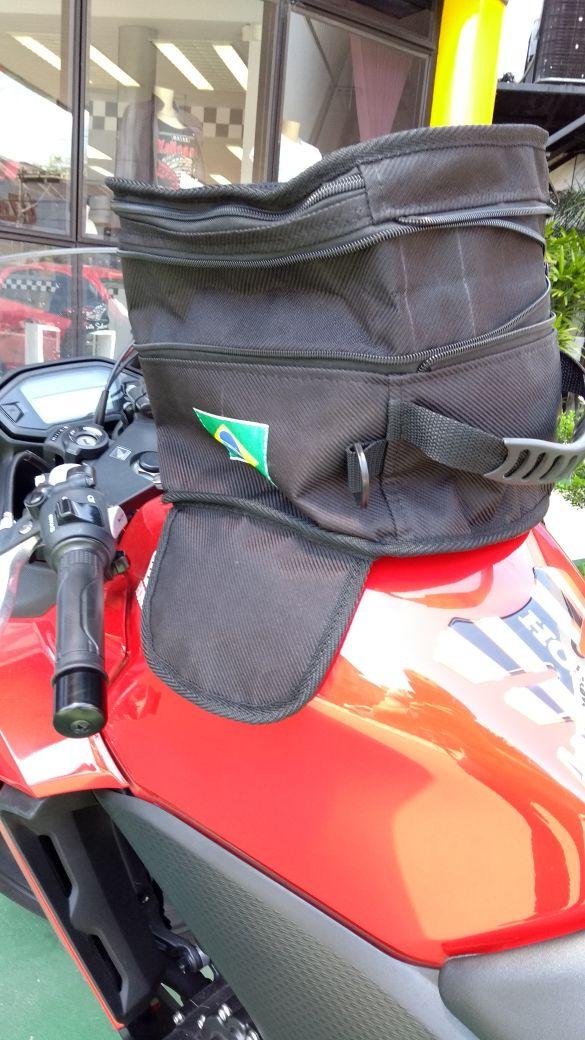 Mala De Tangue Magnética Pequena P Moto Espotiva ou Naked  - Ditesta & Daihead - Moto Store