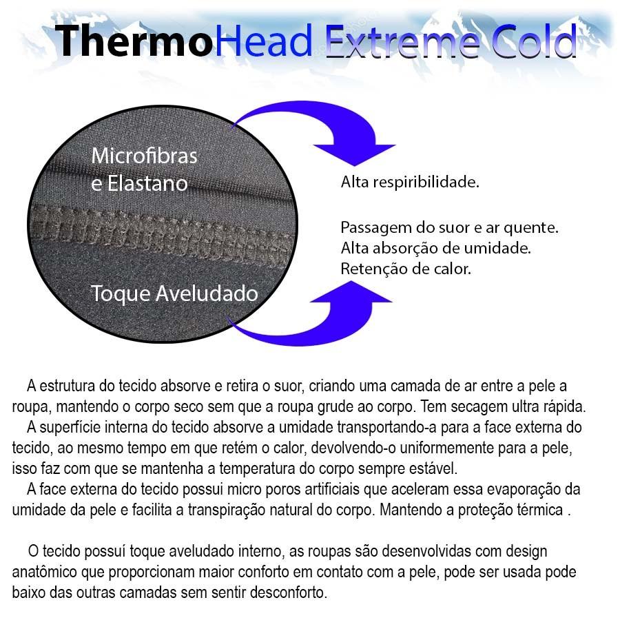 Meia Thermohead Extreme Cold   - Ditesta & Daihead - Moto Store