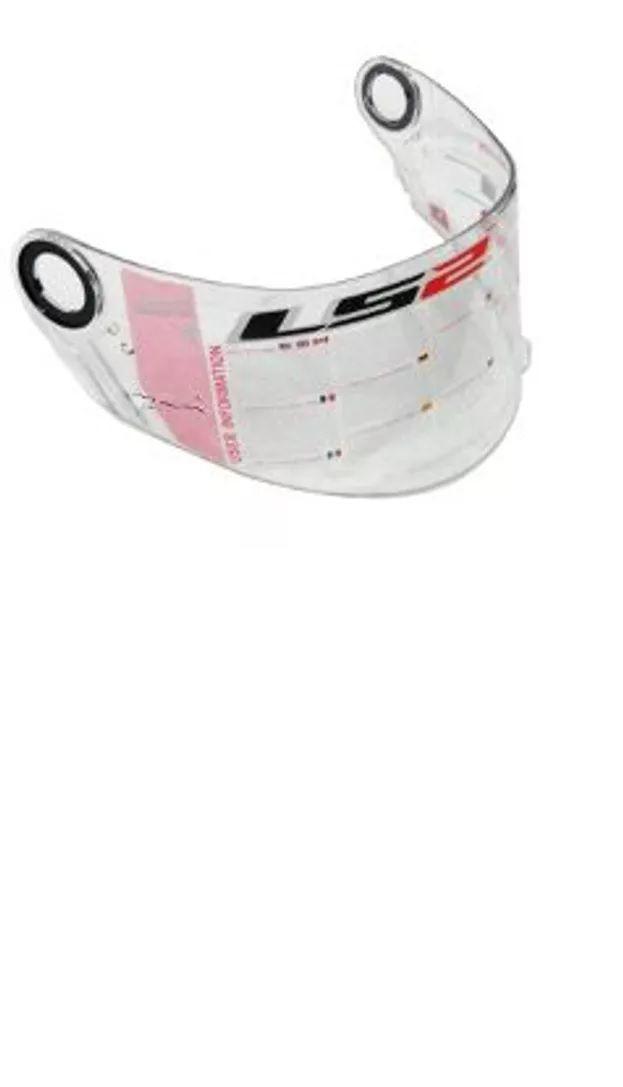 Viseira do capacete LS2 FF358/FF396 Cristal  - Ditesta & Daihead - Moto Store