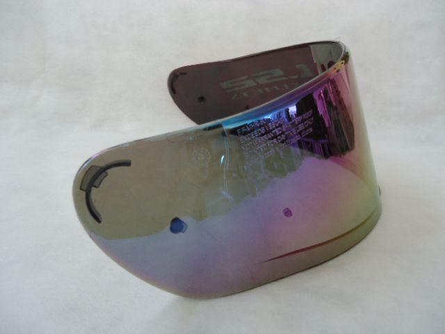 Viseira do capacete LS2 FF397 Vector rainbow camaleão  - Ditesta & Daihead - Moto Store