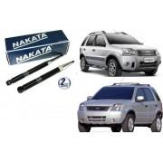 Amortecedor Traseiro Ecosport 2003 até 2012 Par Nakata