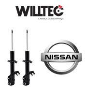 Par Amortecedor Dianteiro Nissan March 2011 até 2018 Willtec