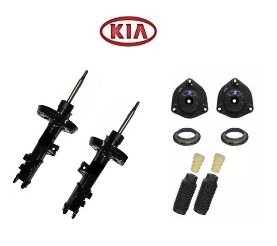Amortecedor Dianteiro c/kit batente Kia carens 2006...2014  willtec