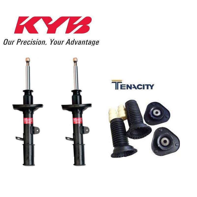 Amortecedor Dianteiro Com Kit Completo Corolla 2015/2019 Par Kayaba