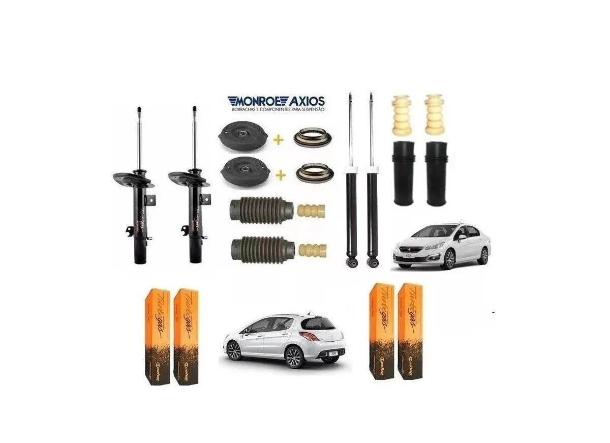 Amortecedor Dianteiro E Traseiro C/ Kit Peugeot 408 Cofap