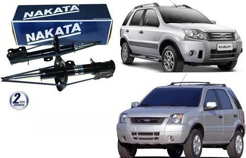 Amortecedor Dianteiro Ecosport 2004 A 2012 Par Nakata
