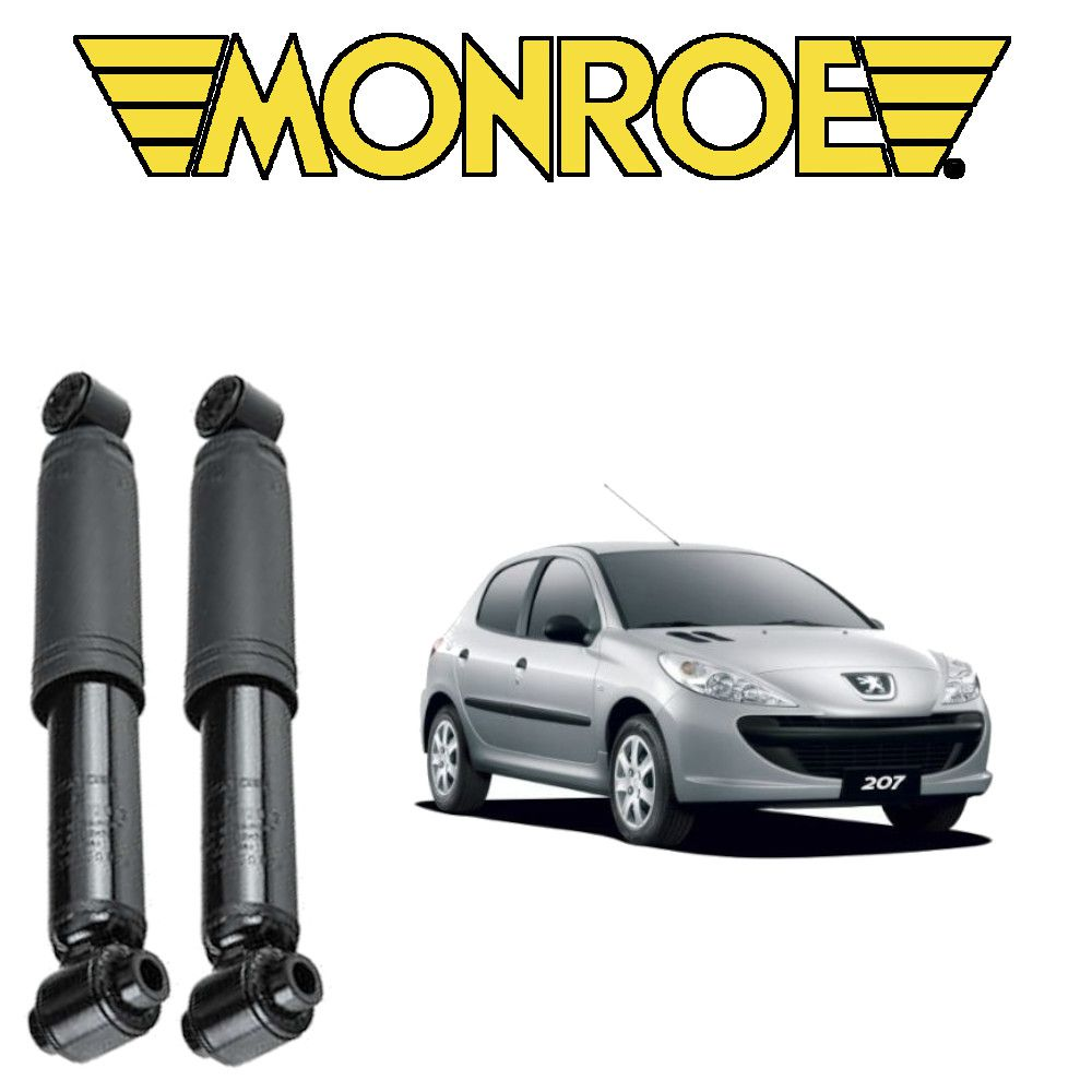 Amortecedor Traseiro Peugeot 206/207 Hatch Par Monroe