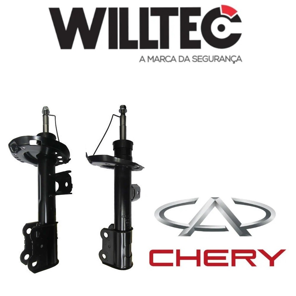 Amortecedor Dianteiro Chery Tiggo 7 ano 2016/2020 Par Willtec