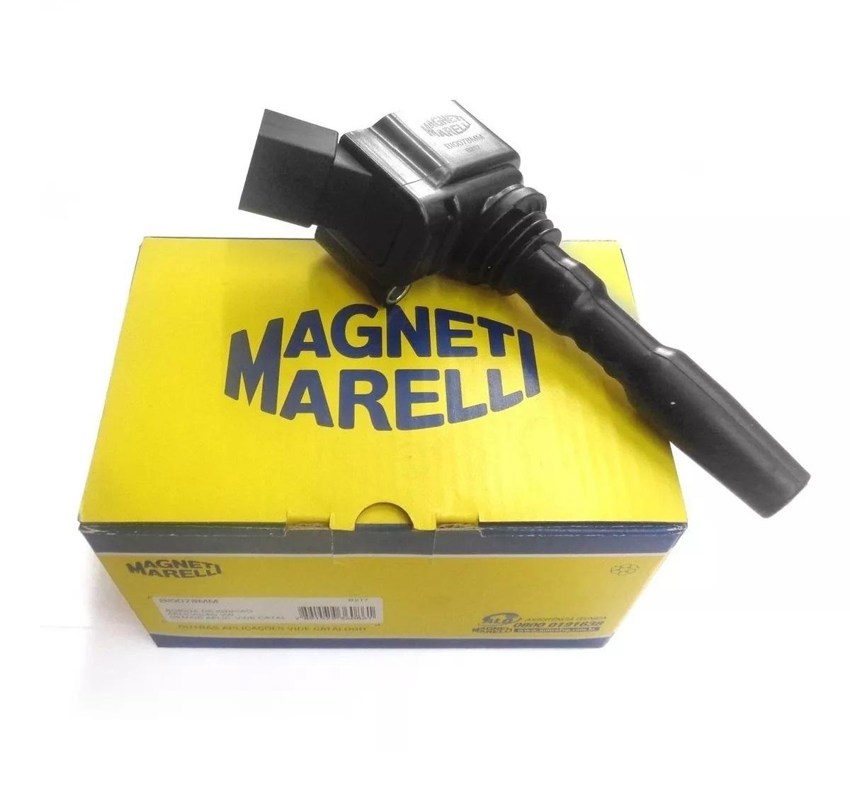 Bobina Ignição Virtus 1.0 Polo 1.0 Up 1.0 Magneti Marelli