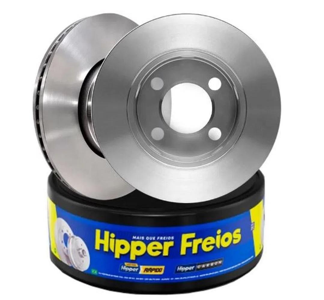 Disco Freio Dianteiro Ford Courier 1.6 1999...Hiper freios
