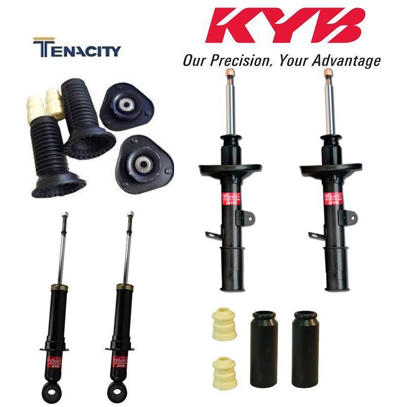 Jogo Amortecedor e kits Batentes Corolla 2009 a 2014 Kayaba/Tenacity 04Pçs
