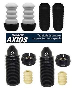 Jogo Amortecedor kits Batentes Axios Gol Voyage G5 G6 2009 a 2016