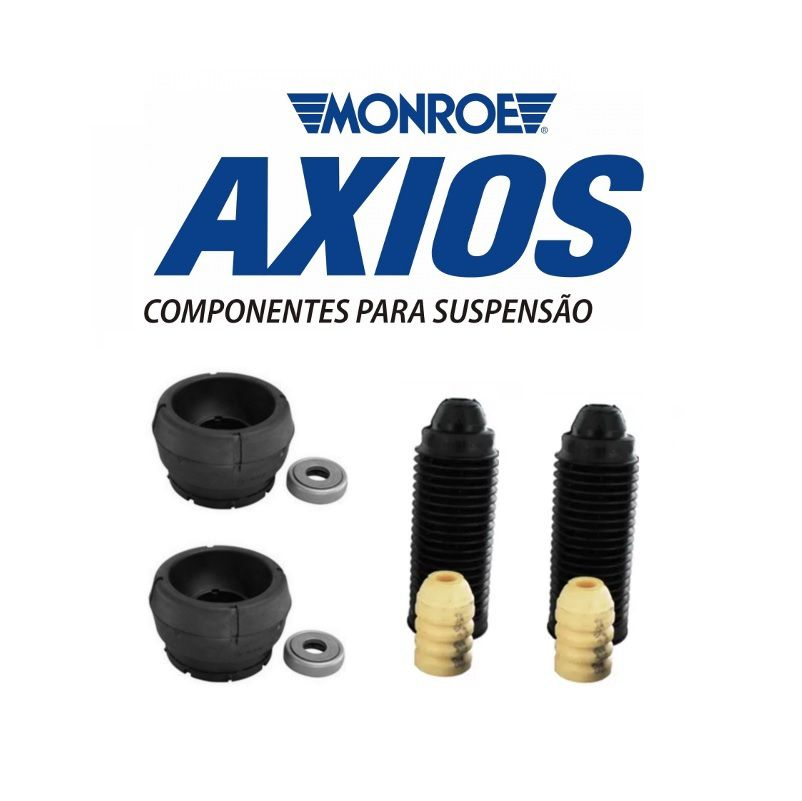 Kit Batente Amortecedor Dianteiro Golf/Bora/Audi A3/New Beetle/UP Par Axios
