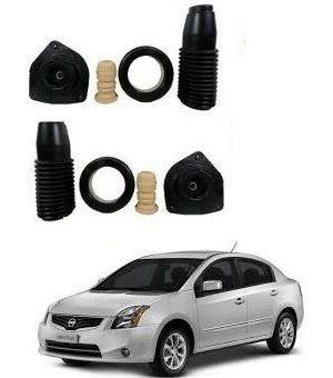 Kit Batente Amortecedor Dianteiro Nissan Sentra 2007 a 2012 PAR
