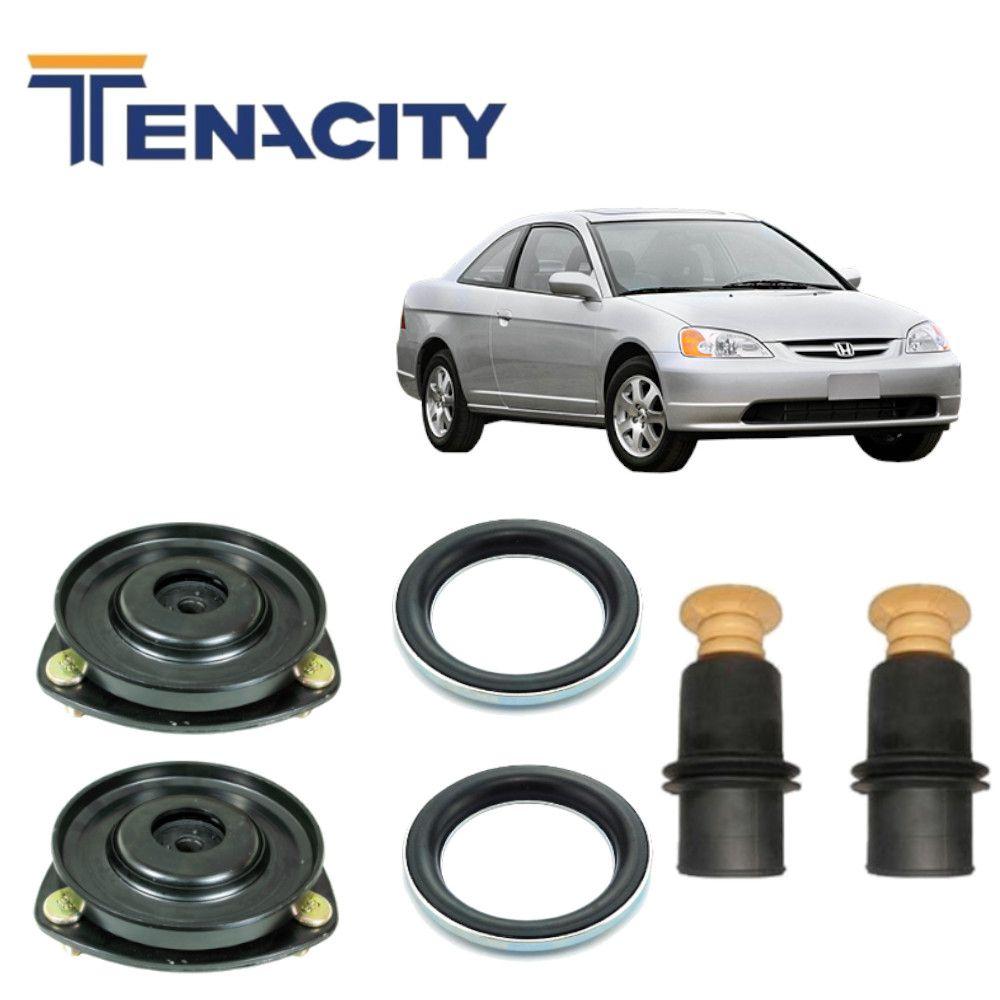 Kit Dianteiro Completo Tenacity Civic 1.7 2003 2004 2005 2006 Par