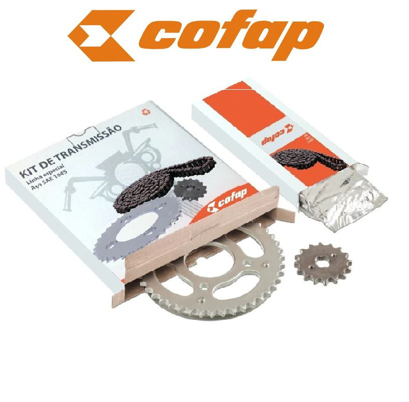 Kit Relação Completo Cofap Honda Xr 250 Tornado 01/08
