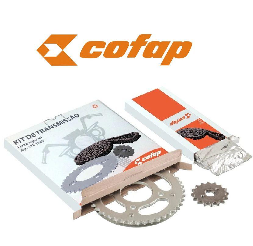 Kit relação Completo Cofap original Factor Ybr 125
