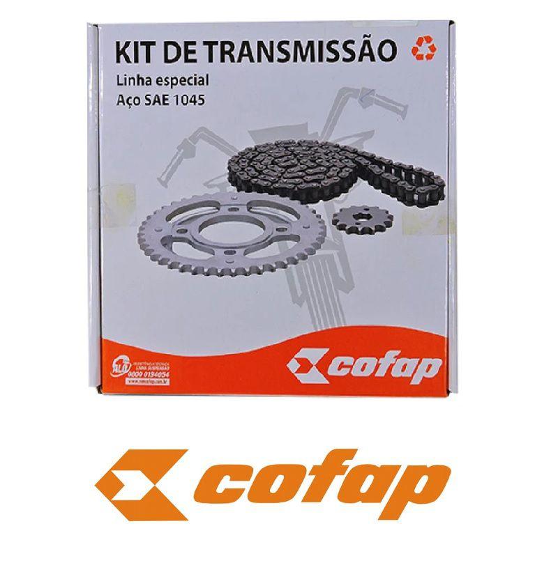 Kit relação Completo Cofap original honda Fan 125 09..