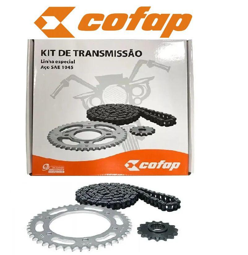 Kit relação Completo COFAP Original YAMAHA Fazer Ys 250 05..